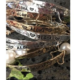 Yume Jewelry Hawaii Aloha Bangle