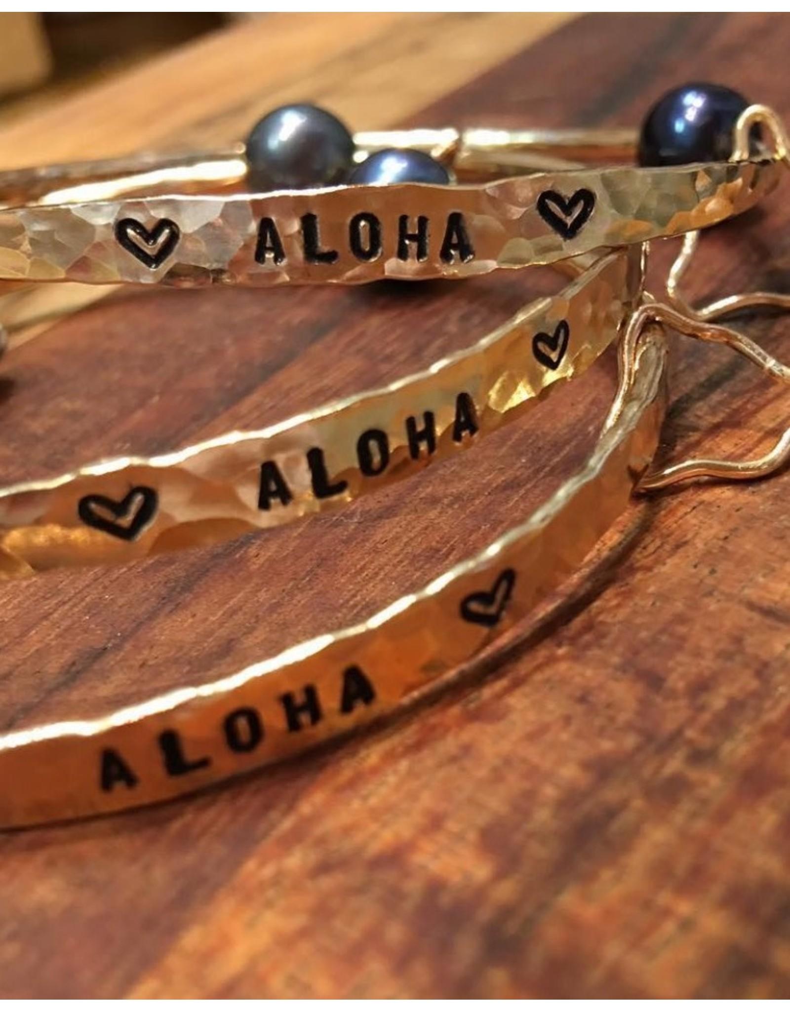 Yume Jewelry Hawaii Aloha Bangle