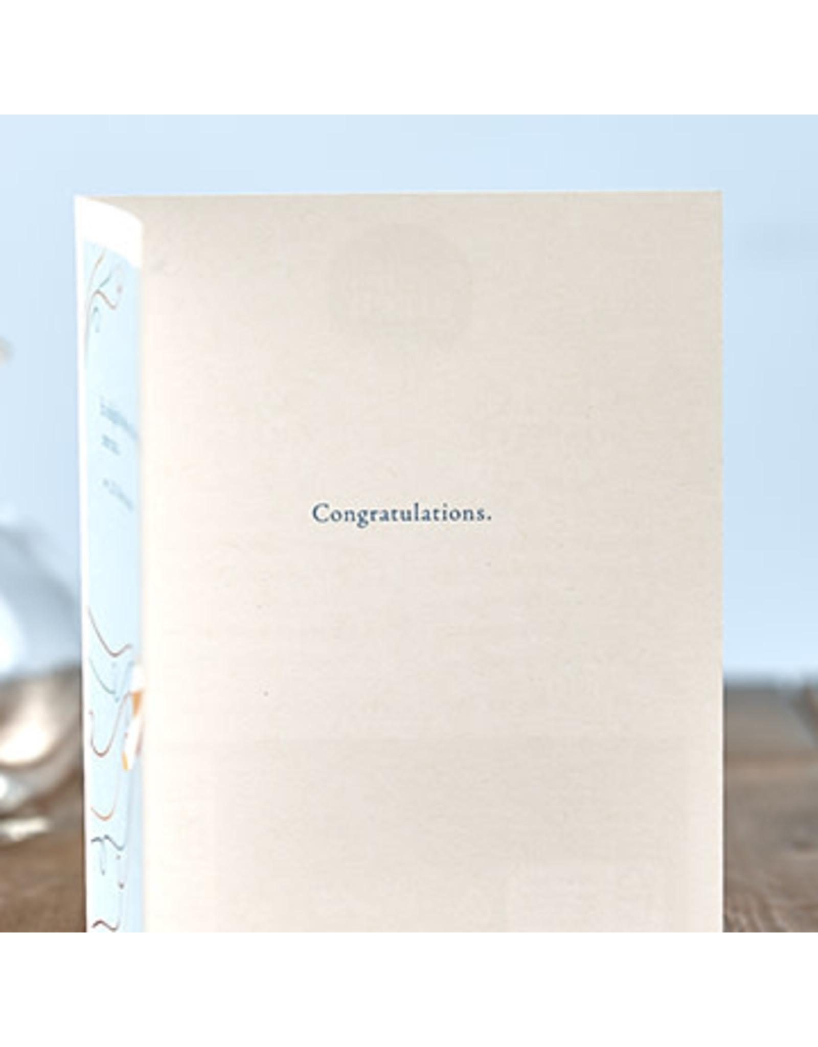 Positively Green PG Card Congratulations