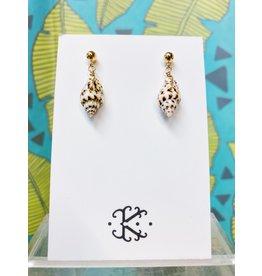 Kirsten Merrill Jewelry GF-LT Miette Light Tiny Shell Earring