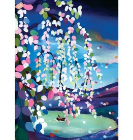 Allport Editions Blooming Willow Tree Blank Greeting Card