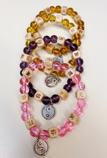Kashu Sales Stretch Zen Bracelet Yin Ying