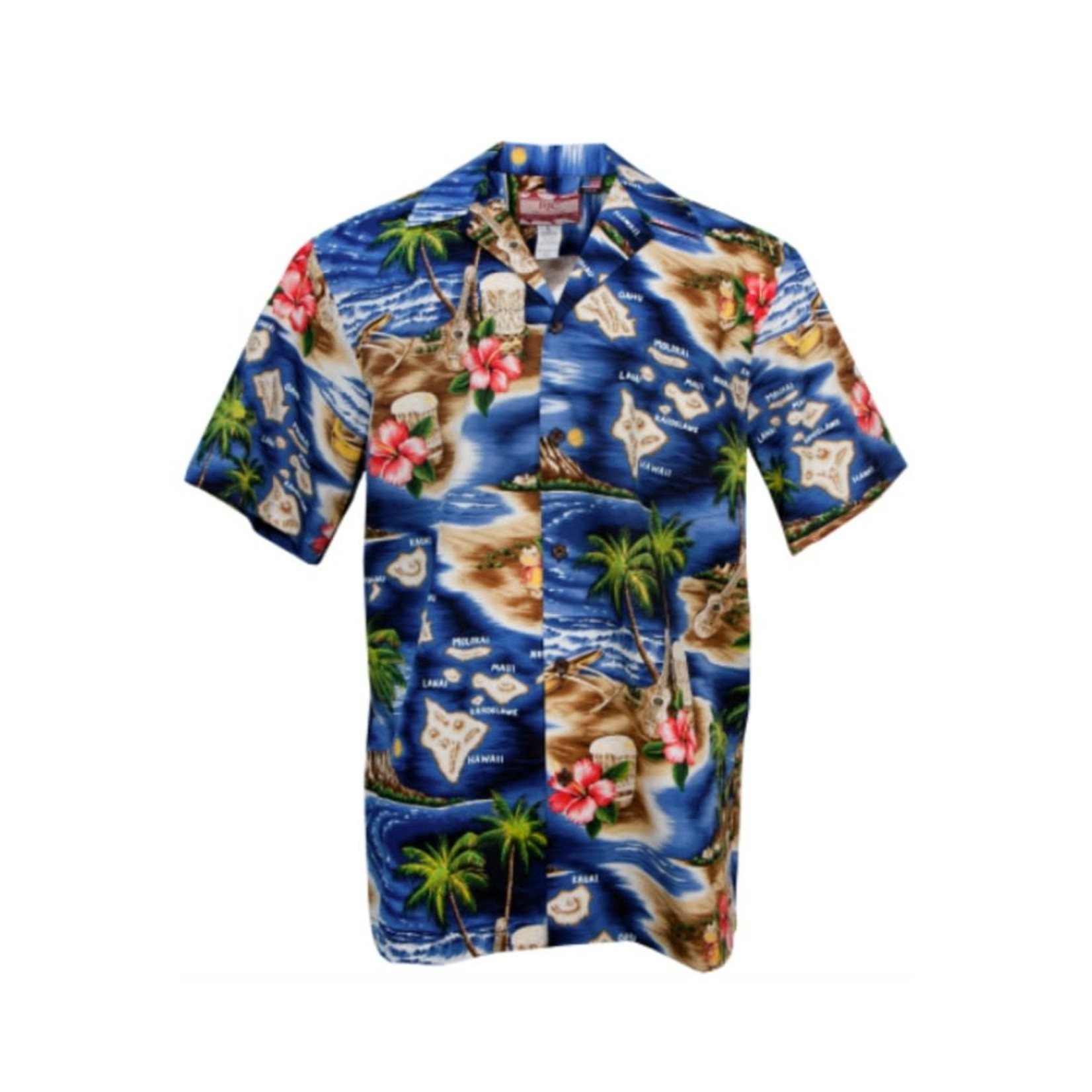 Robert J. Clancey Men's Aloha Shirt