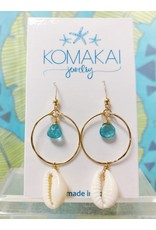 Komakai Jewelry Maldives Gem Apatite Earrings