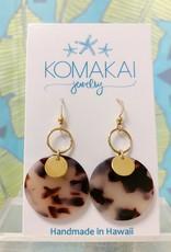 Komakai Jewelry Tortoise Link Earrings