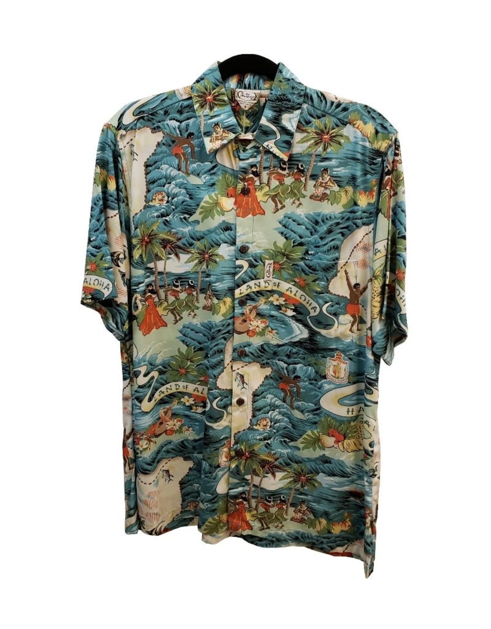 Mr. Hawaii, Inc. Mens Classic Cotton/Rayon Shirt