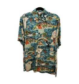 Mr. Hawaii, Inc. Mens Classic Cotton/Rayon Shirt