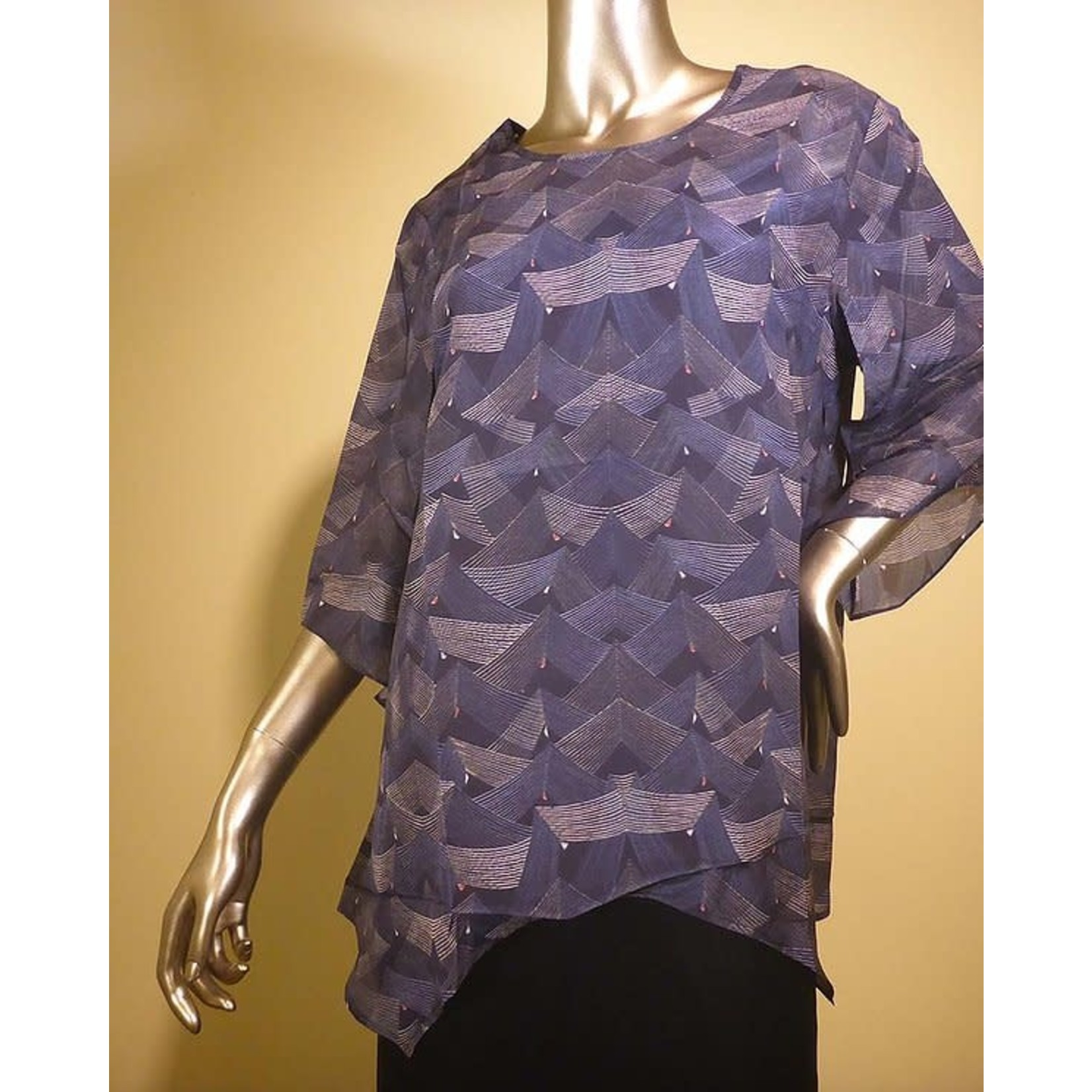 Cocoon House Silk T Top - Loom