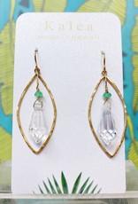 Vintage Crystal Earring