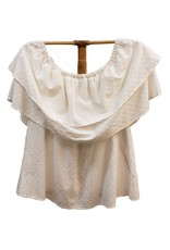 Given Kale Eyelet Top