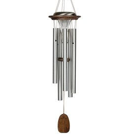 Woodstock Percussion, Inc Moonlight Solar Chime - Silver