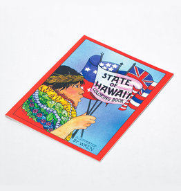 Bess Press Inc State Of Hawaii Coloring Book