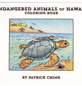 Bess Press Inc Endangered Animals Coloring Book