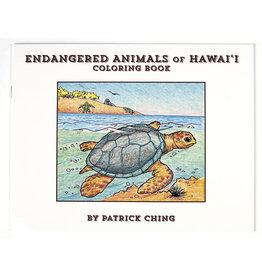 Bess Press Inc Endangered Animals Coloring Book