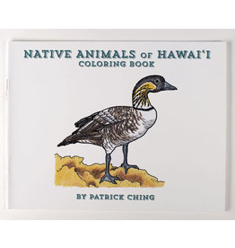 Bess Press Inc Native Animals of Hawaii Coloring Book