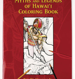 Bess Press Inc Myths and Legends of Hawaii Coloring Book