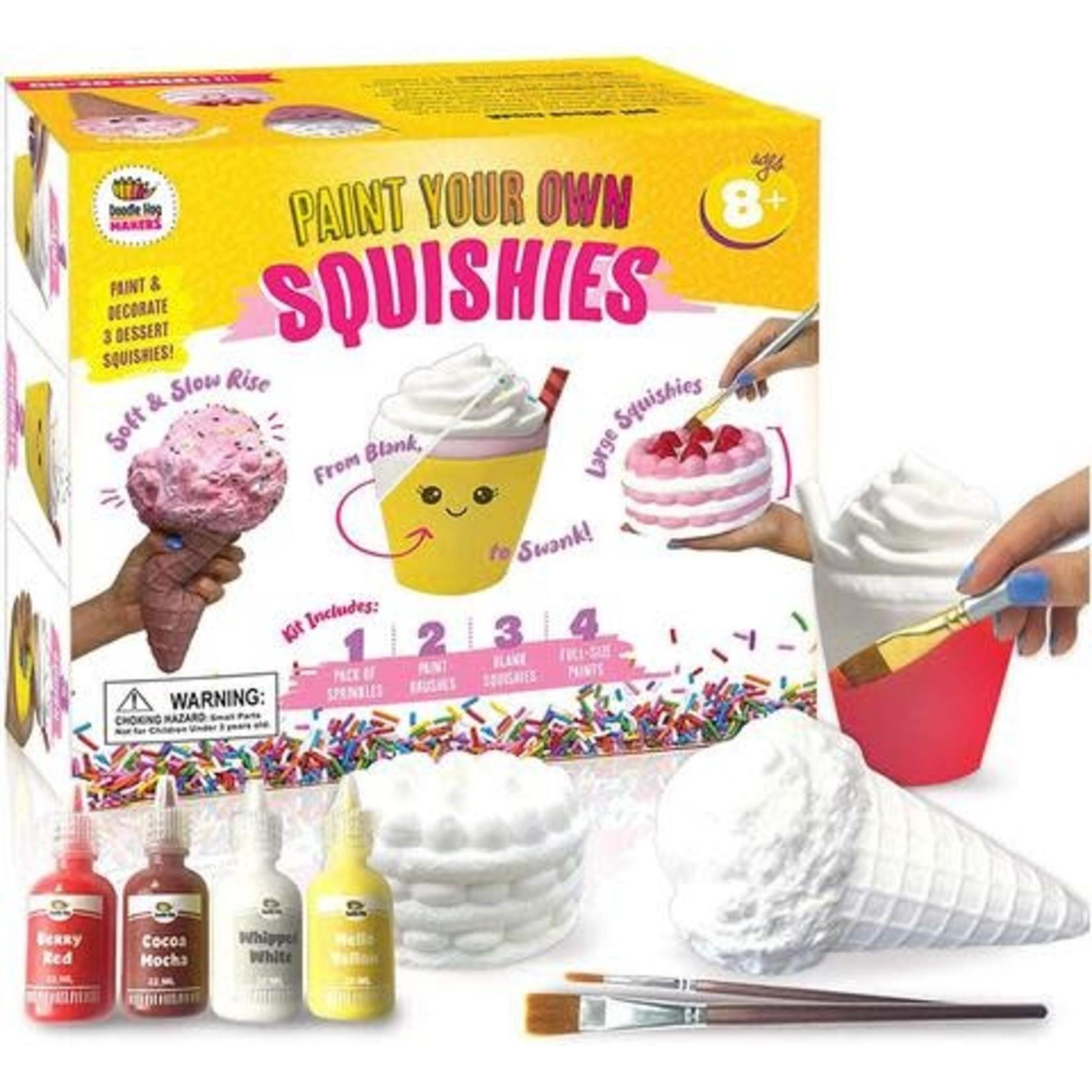 Doodle Hog DIY Paint Your Own Squishies Kit