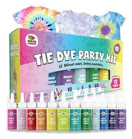 Doodle Hog Easy Tie Dye Party Kit for Kids