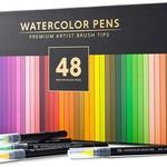 Doodle Hog Premium Watercolor Brush Pens