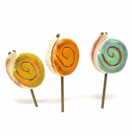 Studio M Mini Snail Picks Set/3 Asst