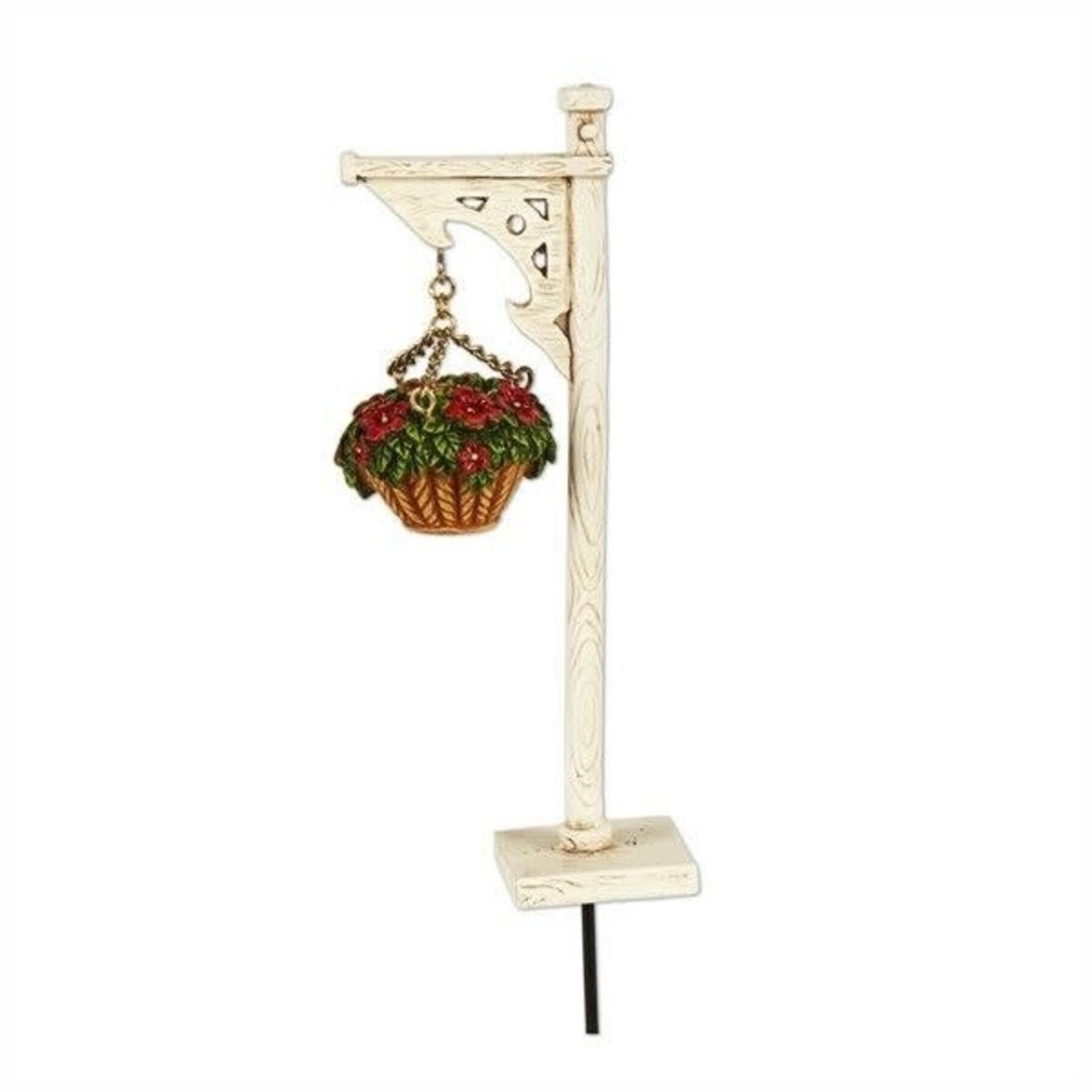 Studio M Mini Hanging Basket w/ Stand