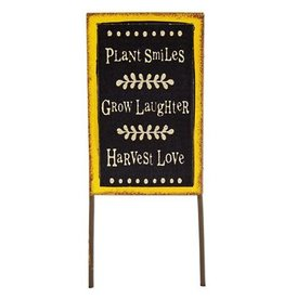 Studio M Mini Plant Smiles Sign