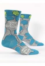 Blue Q Men's Socks