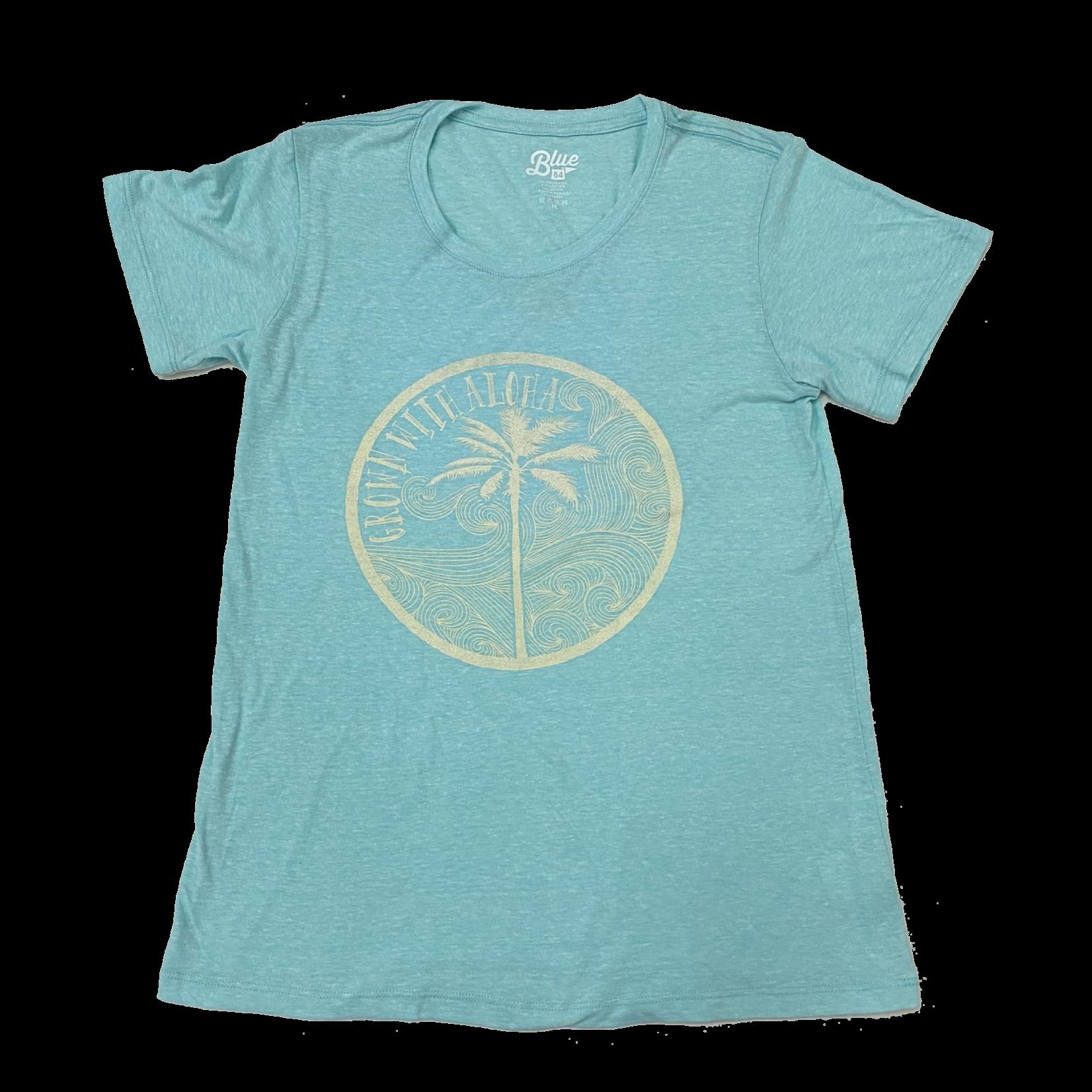Blue 84 Weezer Beach Ladies T-Shirt