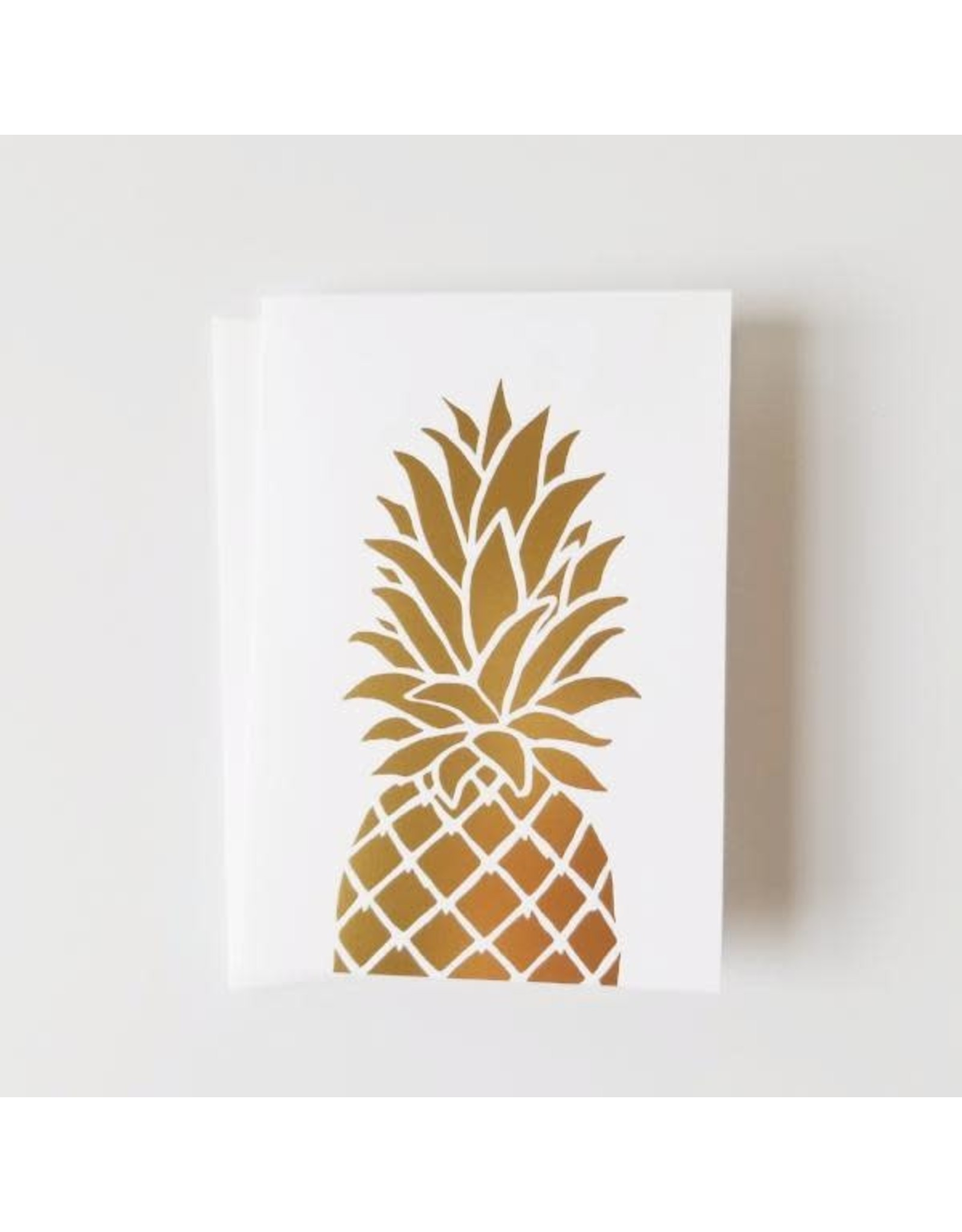 Bradley & Lily 4-Bar Foil Pineapple Folded Set (6)