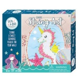 Bright Stripes Sea & Do: Seahorse String Art