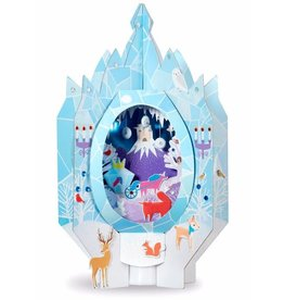 Bright Stripes Lantern Lands: Ice Palace Fantasy