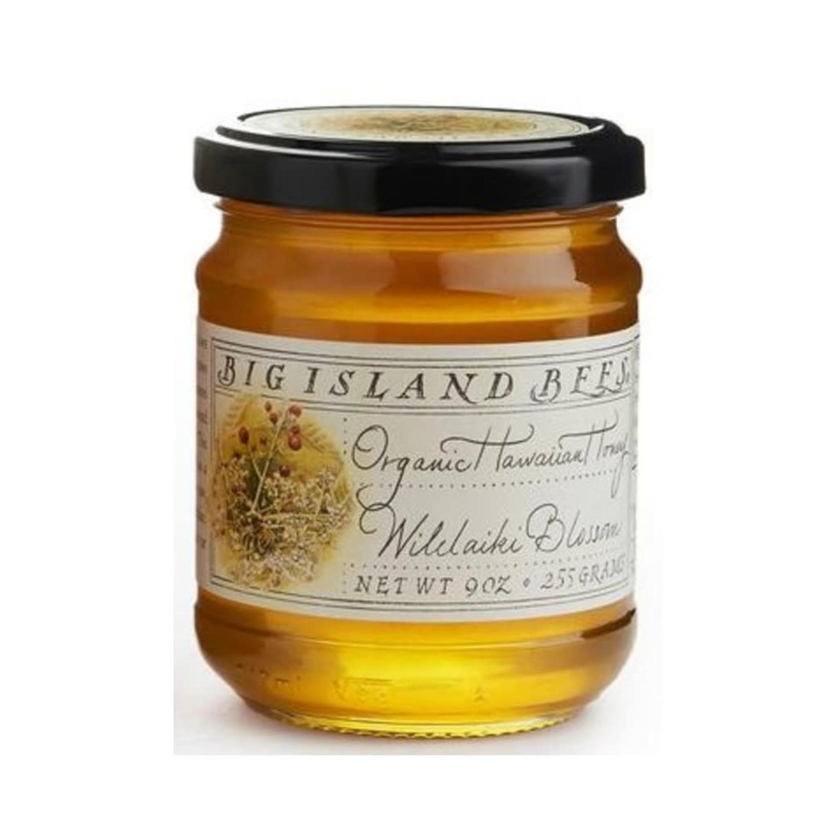 Big Island Bees Organic Wilelaiki Honey 9 oz