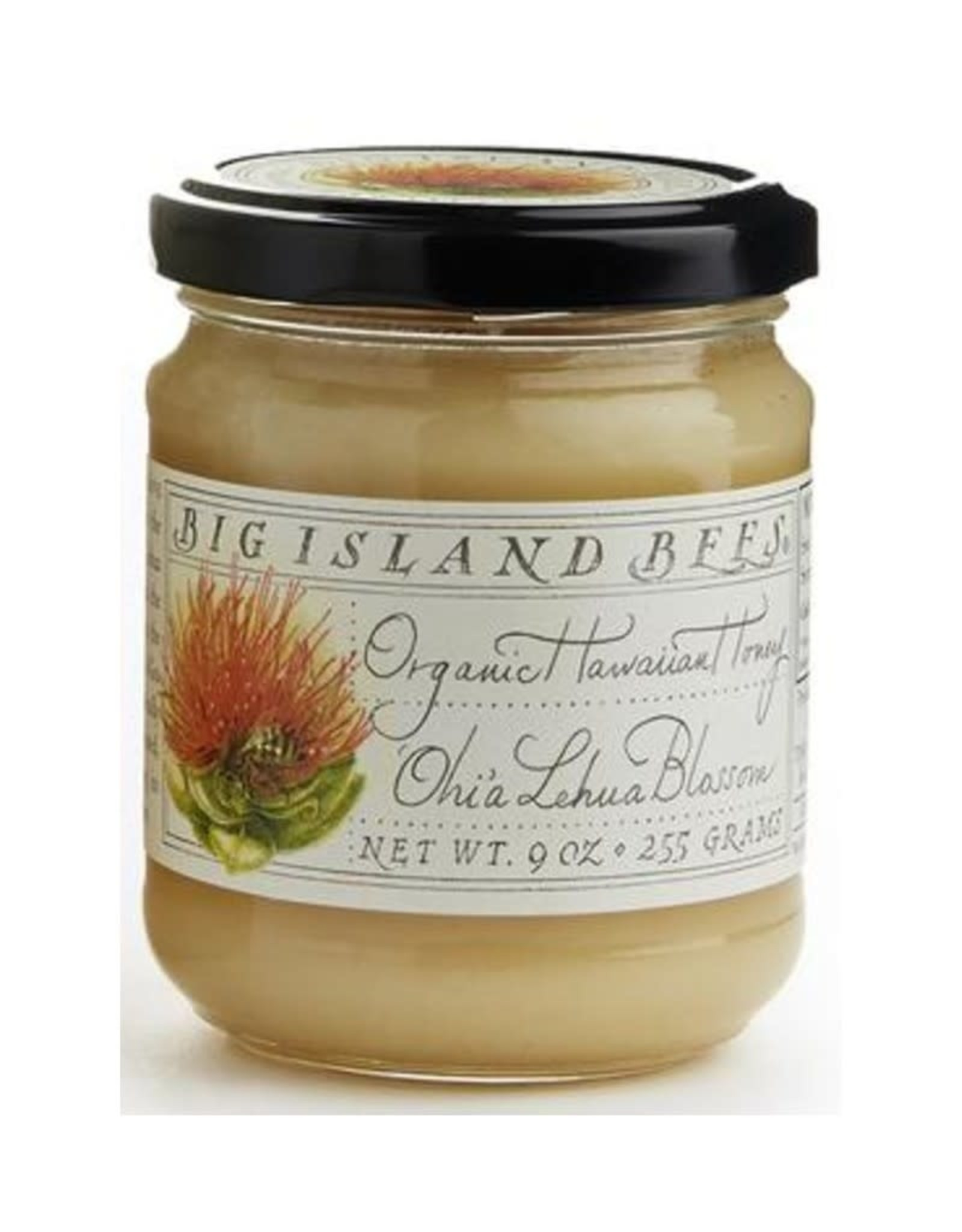 Big Island Bees Organic Lehua Honey, 9 oz.