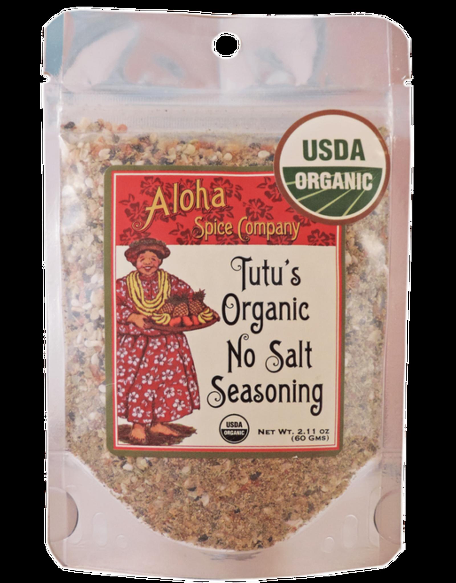 Aloha Spice Co. Tutu Organic Bag - No Salt