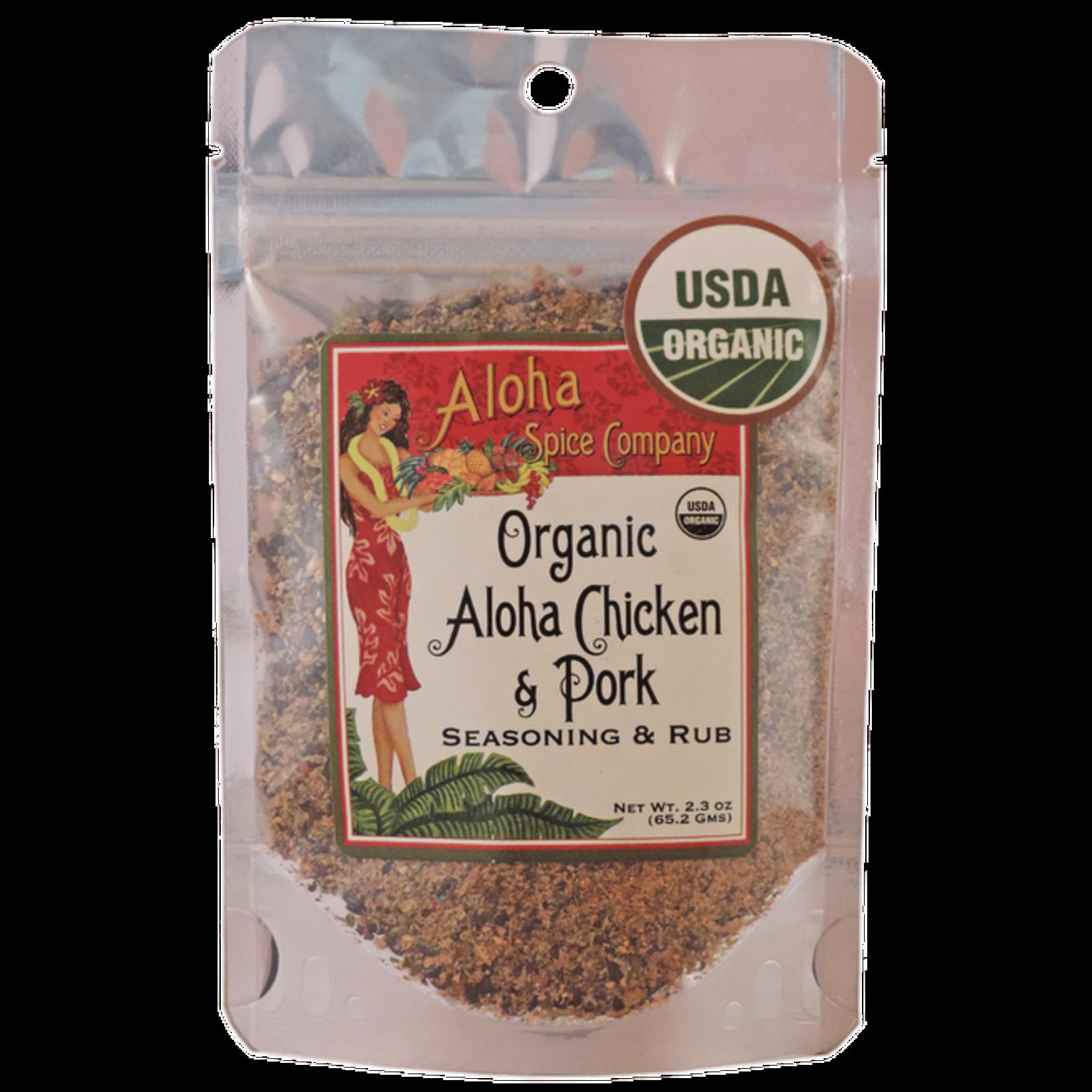 Aloha Spice Co. Organic Aloha Chicken & Pork Rub Bag