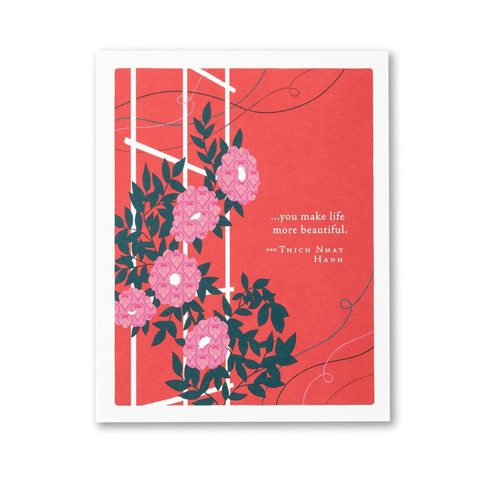 Positively Green PG Card Valentine's Day