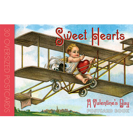 LAUGHING ELEPHANT Postcard Book SWEET HEARTS