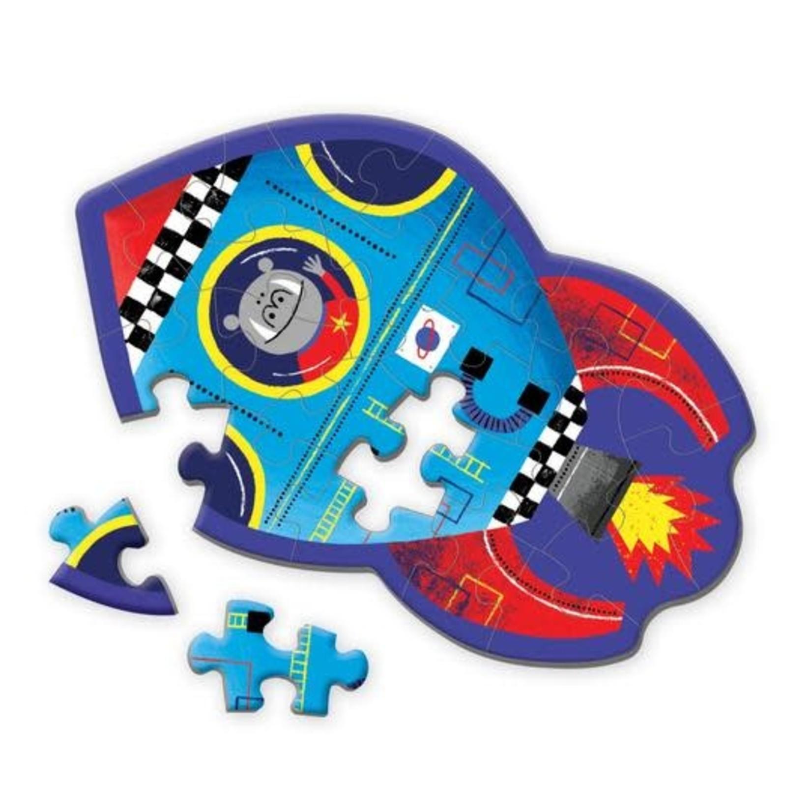 MudPuppy Shaped Mini Puzzle 24 pc