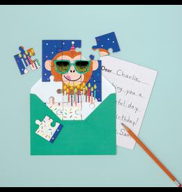 MudPuppy Puzzle Greeting Card