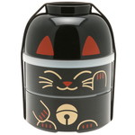 Kotobuki Trading Co. Inc Bento Big Kokeshi Black Cat