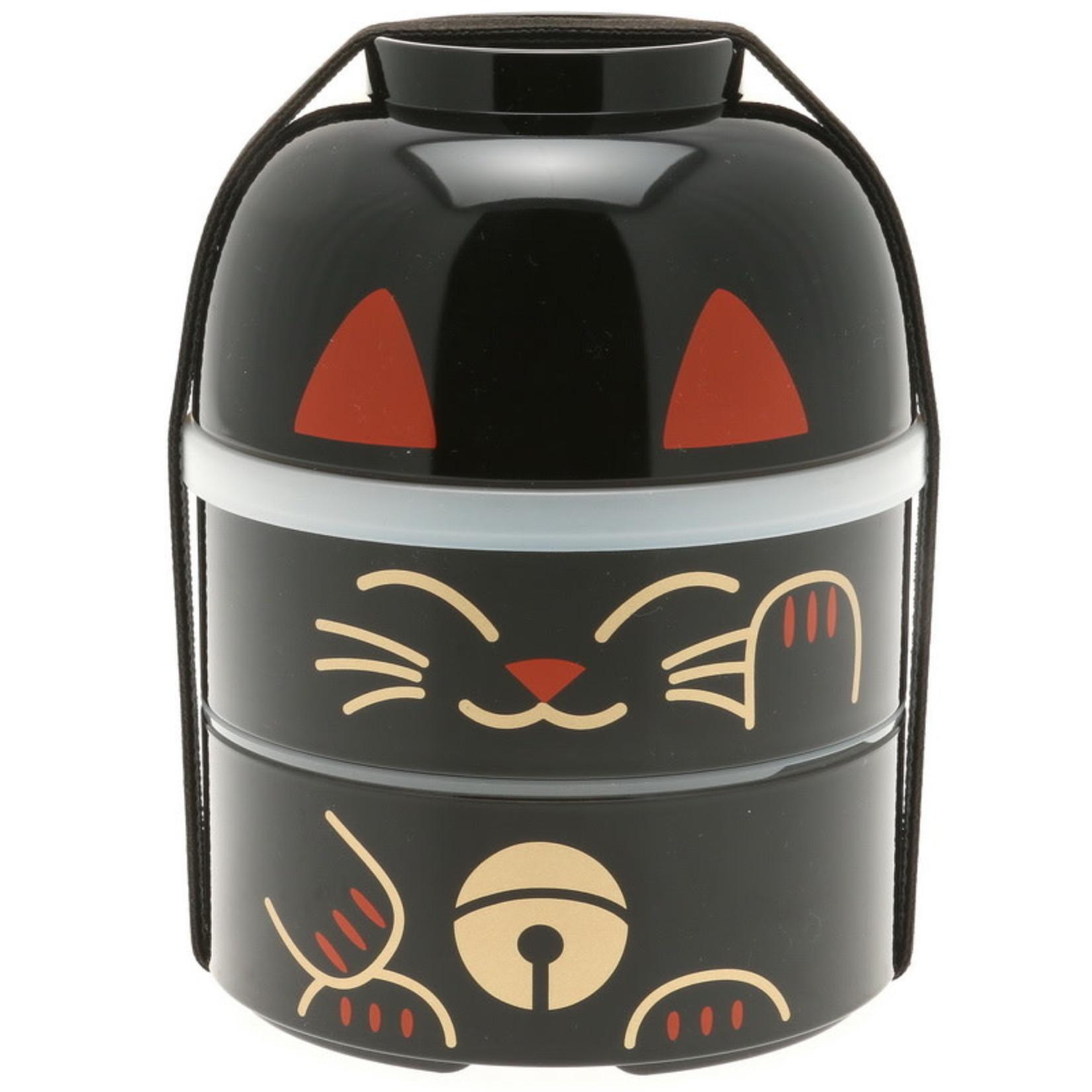 Kotobuki Trading Co. Inc Bento Big Kokeshi Black Cat