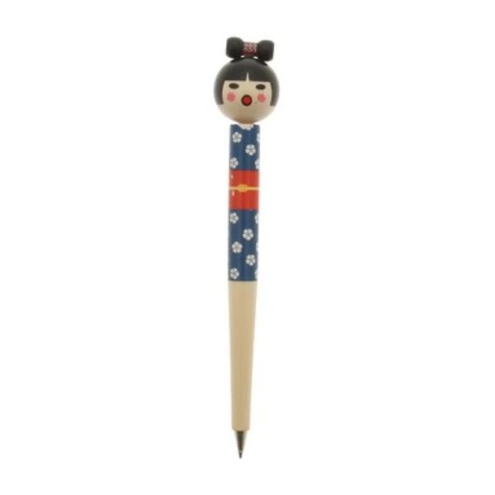 Kotobuki Trading Co. Inc Pen Kokeshi Doll