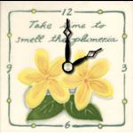 Banana Patch Studio 4x4 Take Time...Clock