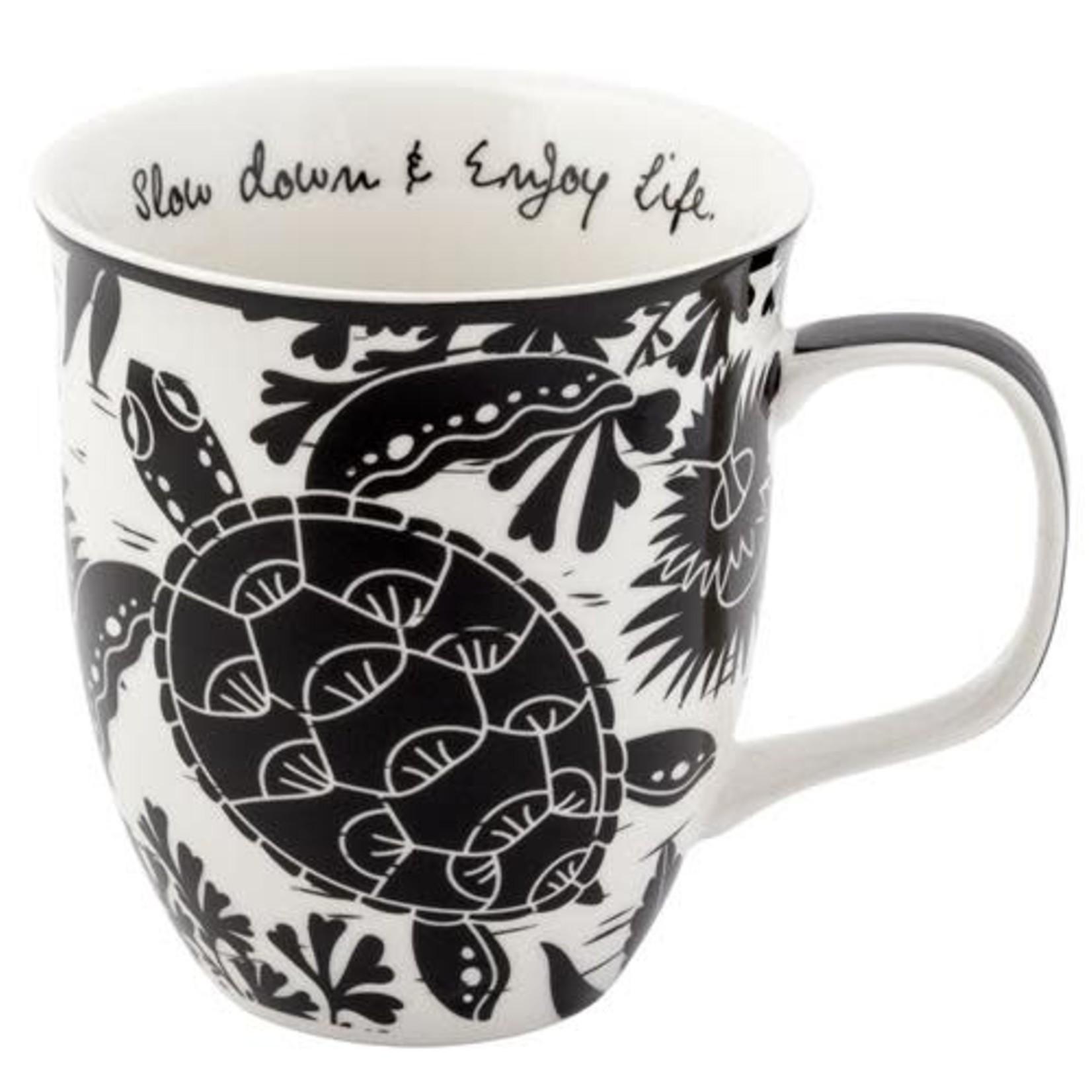 Karma Boho B/W Mug