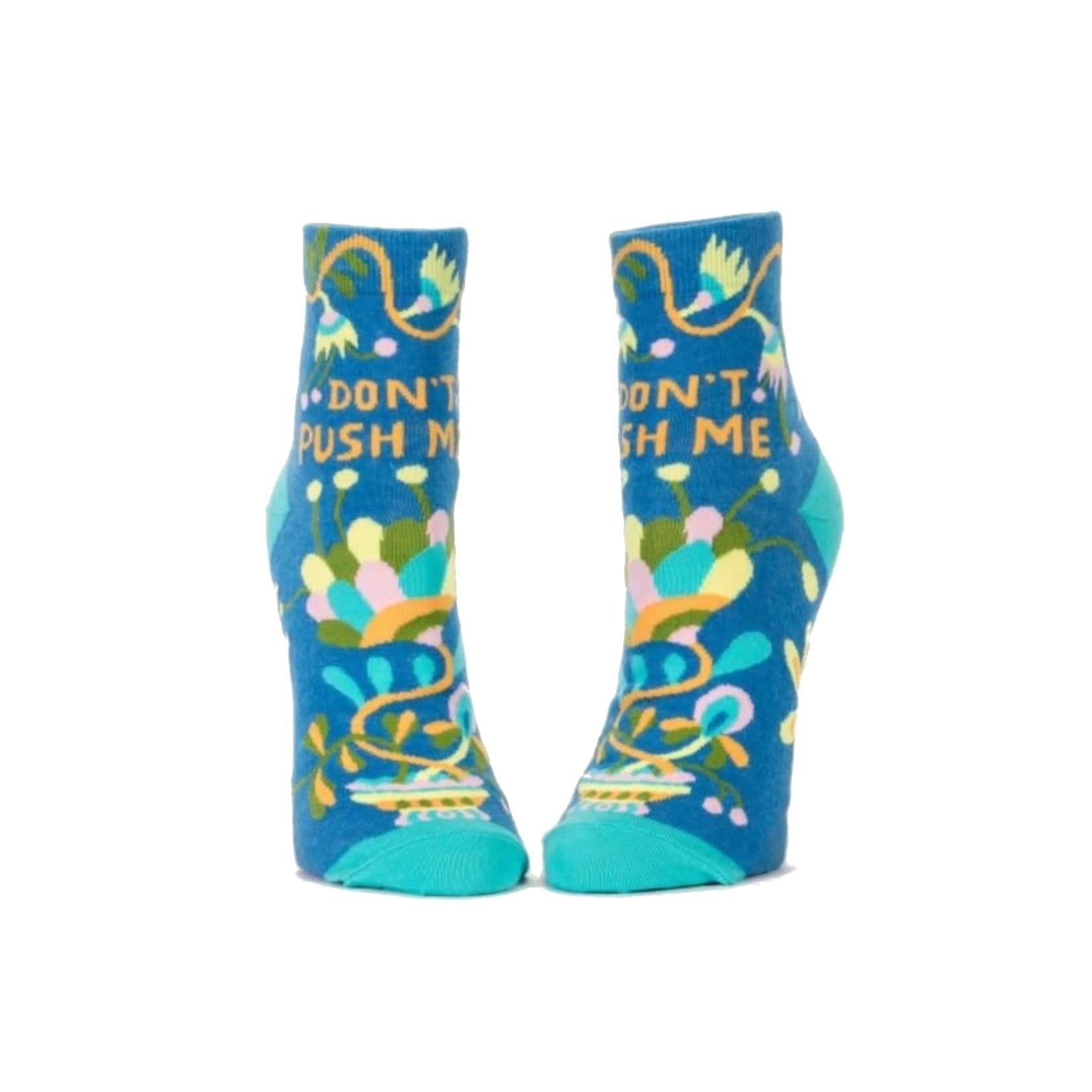 Blue Q Ankle Socks: