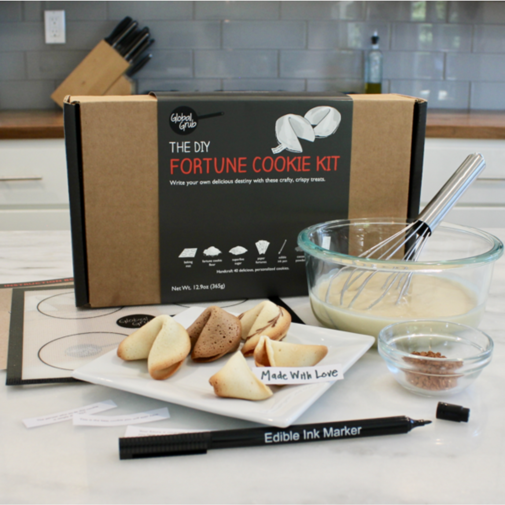 Global Grub DIY Fortune Cookie Kit
