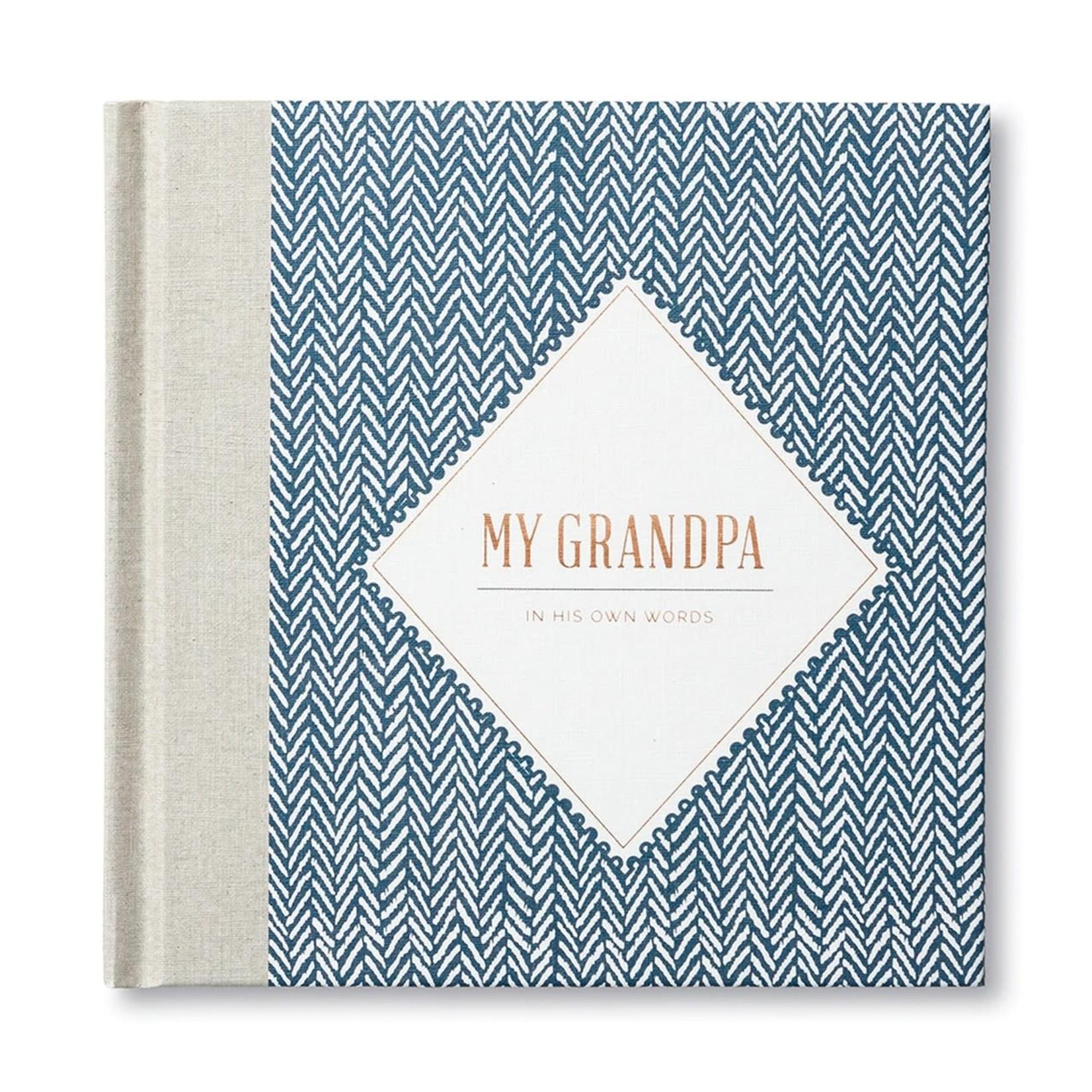 Compendium Book - My Grandpa Interview Journal