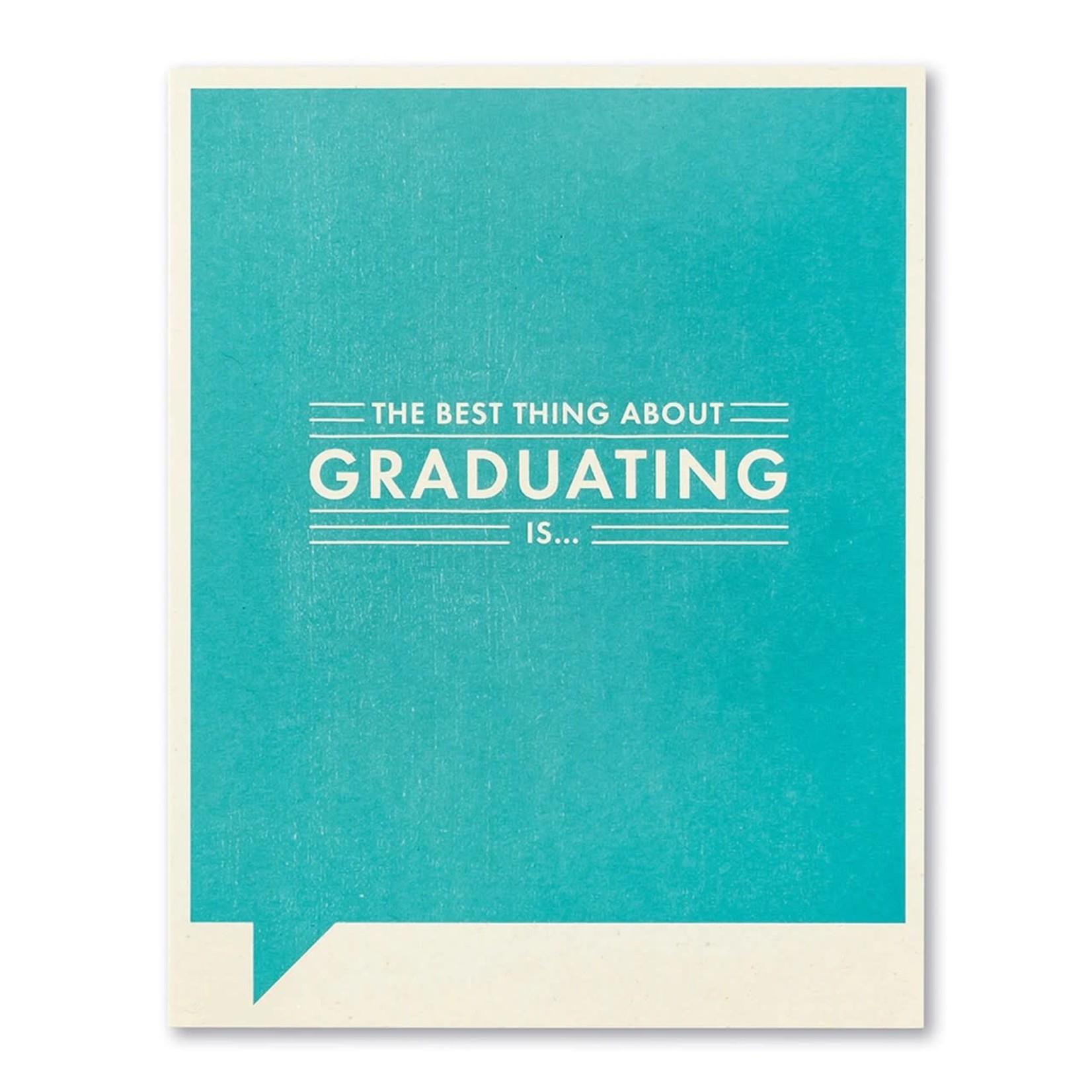 Frank & Funny F&F Card Graduation