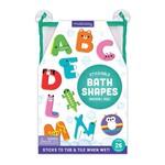 MudPuppy Bath Shapes Stickable Foam