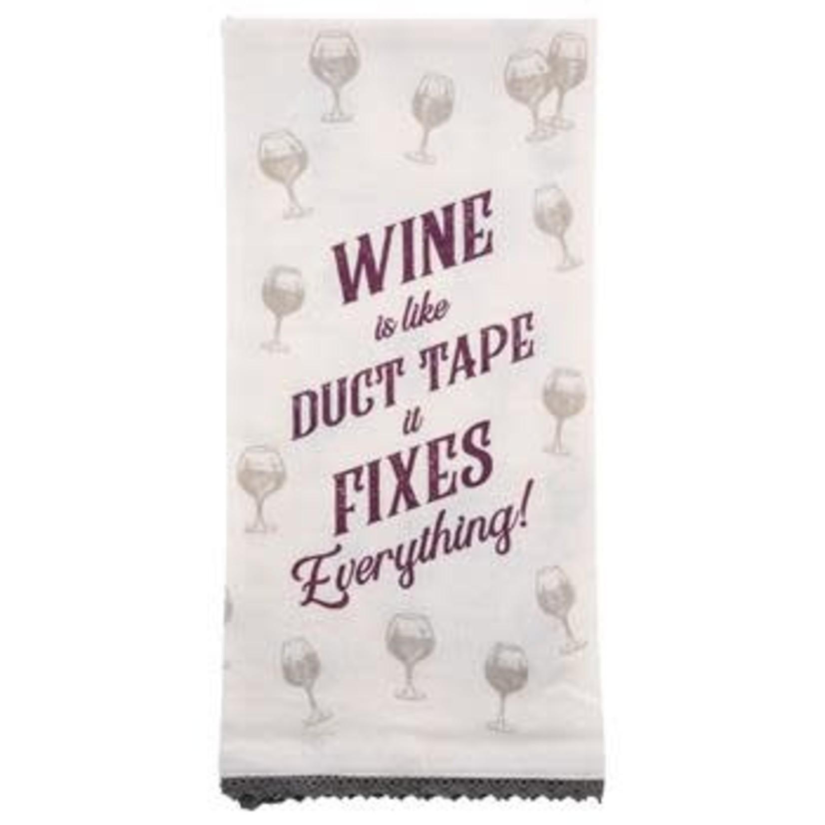 Karma Flour Sack Tea Towel